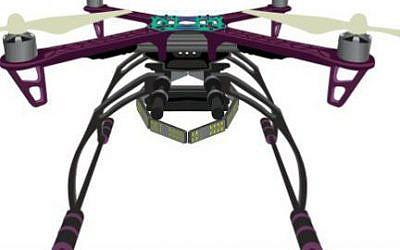 Arbe Robotics' drone technology helps avoid crashes (Courtesy)