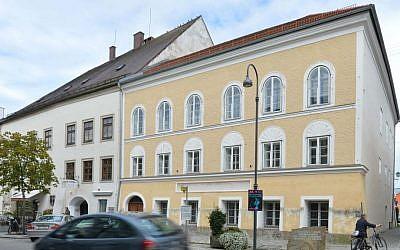 Adolf Hitler's birth house in Braunau am Inn, Austria. (AP Photo/Kerstin Joensson)