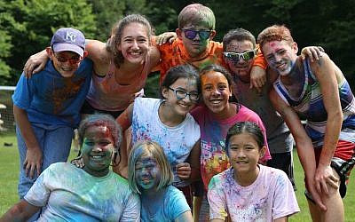 Camp JRF has embraced inclusivity since its founding, with activities that rarely divide up the boys and the girls. (Courtesy of Camp JRF/via JTA)