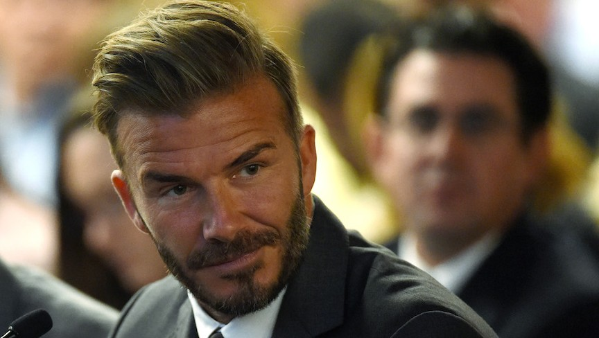 Beckham Says He Feels Jewish Thanks To Granddad The Times Of Israel