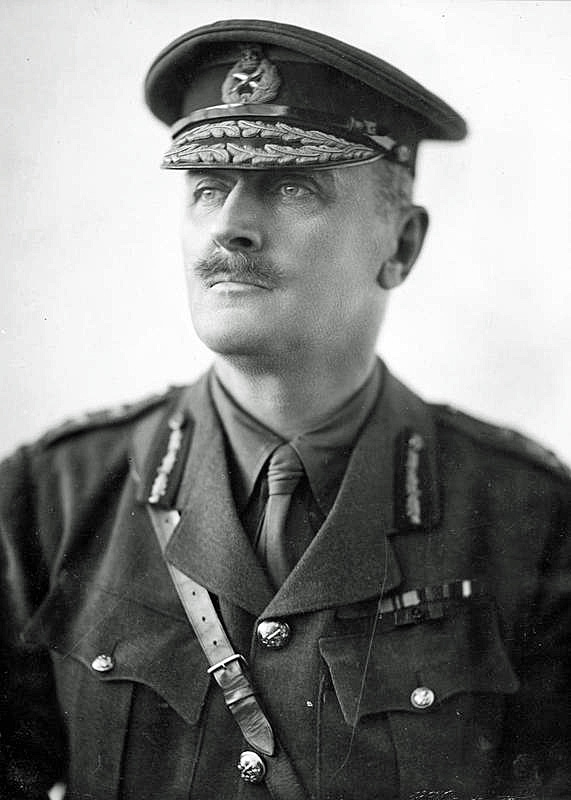 Field Marshal Viscount Edmund Allenby after the conquest of Jerusalem (Wikipedia)