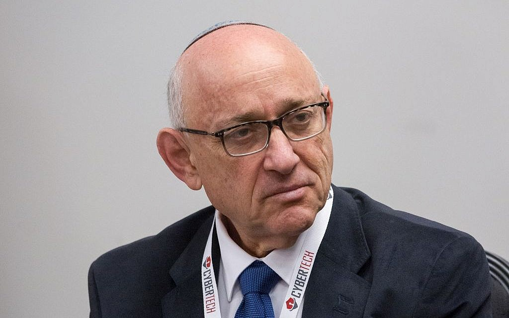 Yaakov Nagel (Miriam Alster/Flash90)