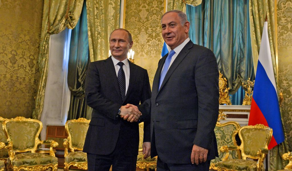 Image result for netanyahu vistits russia