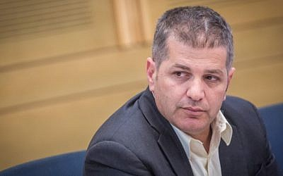 Knesset Member Yoav Kisch at a Knesset committee meeting on June 14, 2016. (Hadas Parush/Flash90)