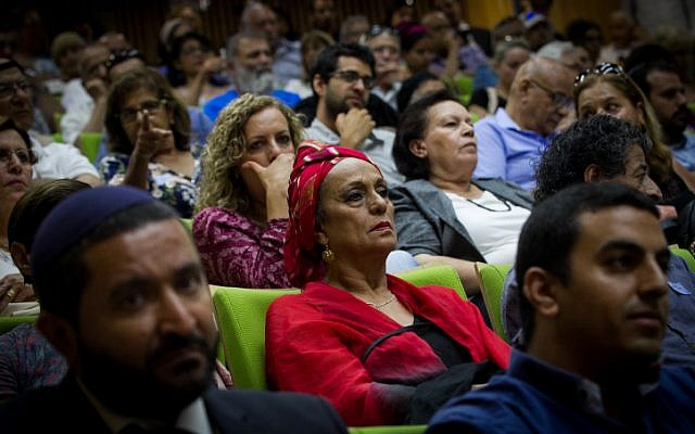 """A conference on the """"Yemenite Children Affair"""", in the Israeli parliament on June 21, 2016. (Miriam Alster/FLASH90)"""