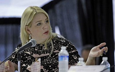 In this Feb. 5, 2015 file photo, Florida Attorney General Pam Bondi speaks in Tampa, Florida. (AP Photo/Chris O'Meara, File)