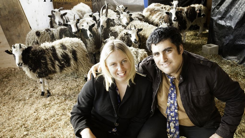 Gil and Jenna Lewinsky at their farm in Abbotsford, Vancouver, Canada, in this undated photo from 2016. (courtesy Mustard Seed Imaging)