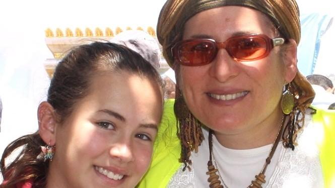 Hallel (left) and Rina Ariel (courtesy Adam Propp)