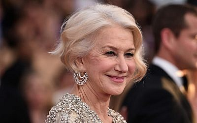 Actress Helen Mirren attends the 22nd Annual Screen Actors Guild Awards at The Shrine Auditorium, Los Angeles, California, January 30, 2016. (Alberto E. Rodriguez/Getty Images)