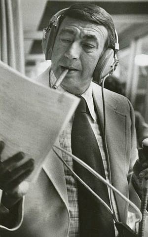 Howard Cosell in 1975 (Wikipedia)