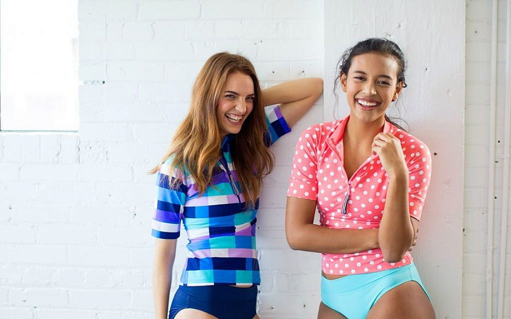 e09af3b7bbe92 Lime Ricki, based in Utah, sells swimwear that is fun, fashionable and  covered