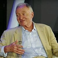 During his J-TV interview, released June 21, 2016, former London mayor Ken Livingstone said he would take out to dinner whoever succeeded in proving him wrong on the 'fact' that Hitler supported Zionism. (YouTube screenshot)