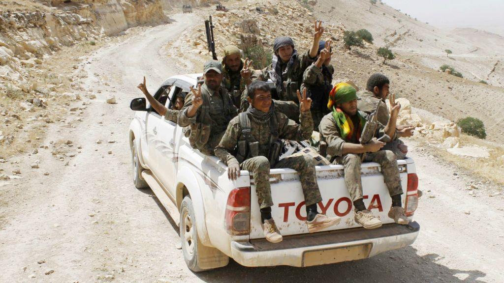 Turkey says Trump must keep pledge on not arming YPG militia