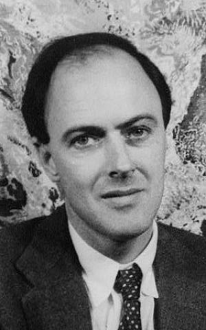 A 1954 photo of author Roald Dahl (public domain)