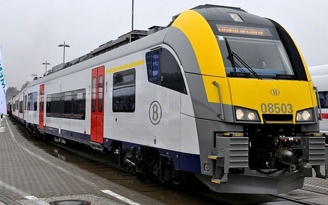 Illustrative: A Belgian train at the InnoTrans in Berlin. (Wikipedia/MPW57/CC BY 3.0)