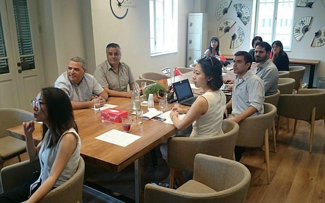 Investors pitch their technologies at TechCode Tel Aviv event (Courtesy)