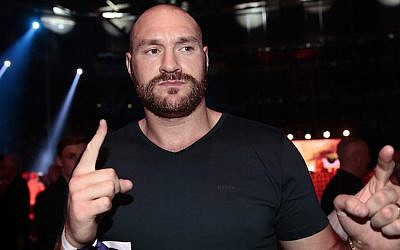 Tyson Fury before the Heavyweight European Championship in Hamburg, Germany, May 7, 2016 (Oliver Hardt/Bongarts/Getty Images)
