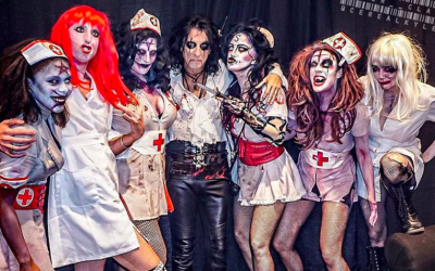 Alice Cooper and some of his stage personas for the wild, wacky ride that is an Alice Cooper concert (Courtesy Alice Cooper)