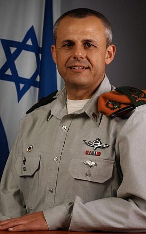 IDF Res. Major-General Yitzhak Gershon, commander of the Home Front Command during the Second Lebanon War, seen here in 2008. (IDF/FLASH90)