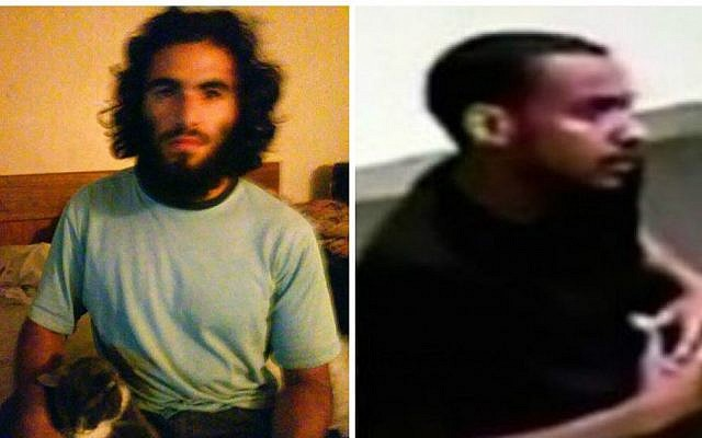 Nader Elhuzayel (right), and Muhanad Badawi (left), both 25 from Anaheim, California were arrested in May 2015 and convicted in June 2016 for alleged plot to  aid the Islamic State terror group. (Handout photos US Attorney's Office Los Angeles)