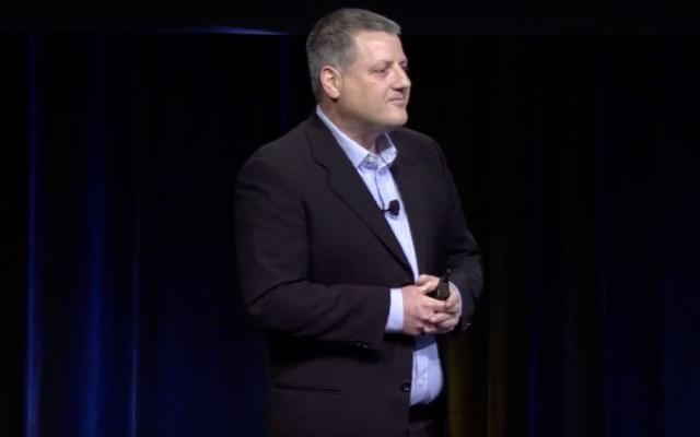Lightcyber CEO Gonen Fink. (YouTube screenshot)