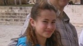 Hallel Yaffe Ariel, 13, was killed in a stabbing attack in her bedroom in the West Bank settlement of Kiryat Arba, June 30, 2016. (Courtesy)