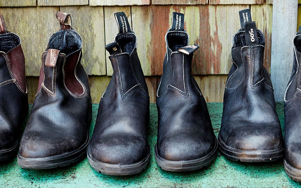 The Australian-made Blundstone boot; a simple ankle boot that's become a  legendary piece