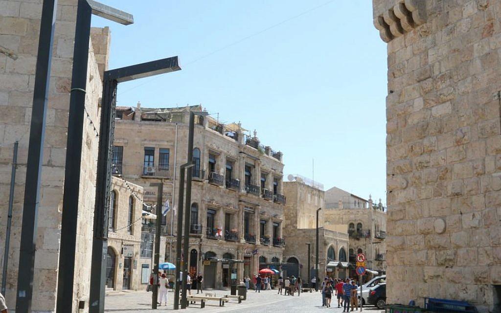 Jerusalem's Jaffa Gate. (Shmuel Bar-Am)