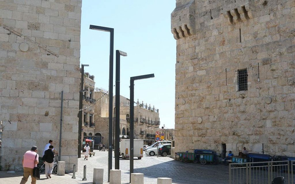 Jerusalem's Jaffa Gate is one of the main entrances to the Old City today. (Shmuel Bar-Am)