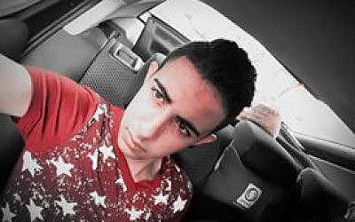 Muhammad Nasser Tarayrah, 17, from the Palestinian village of Bani Naim was the terrorist who killed 13-year-old Hallel Yaffa Ariel in her bedroom in Kiryat Arba on June 30, 2016. (Facebook)