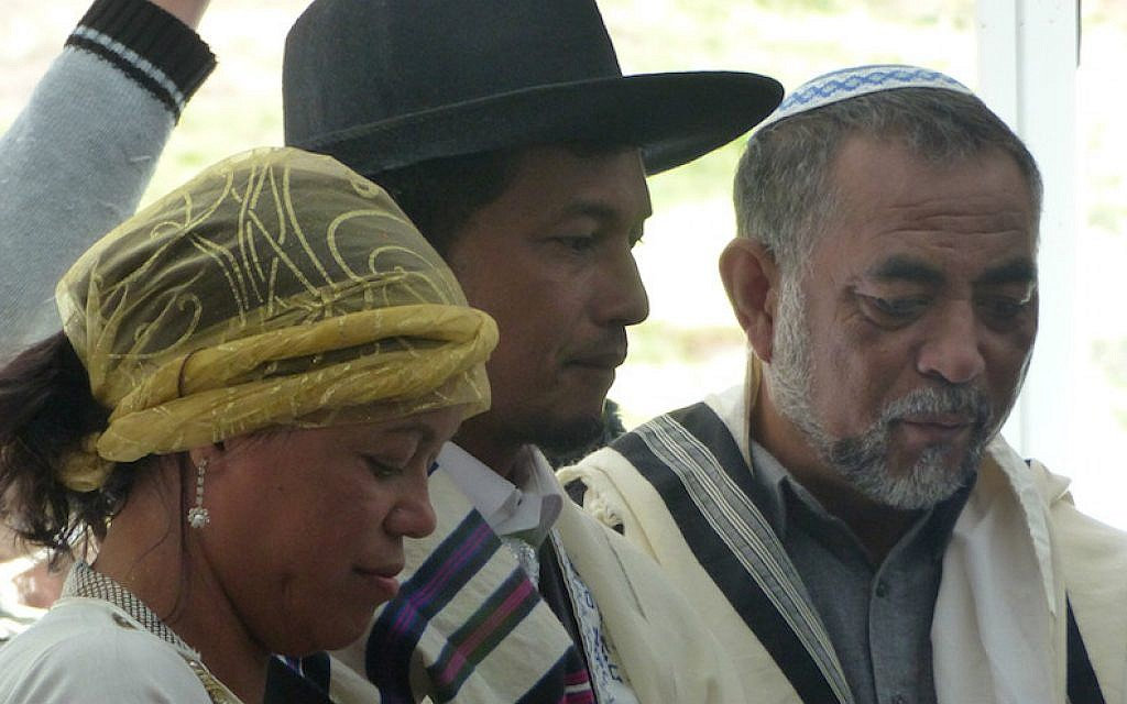 Some of the Malagasy Jews-by-choice in Madagascar see the practice of Judaism as a return to their roots and an overthrowing of the last vestiges of colonialism. (Deborah Josefson)