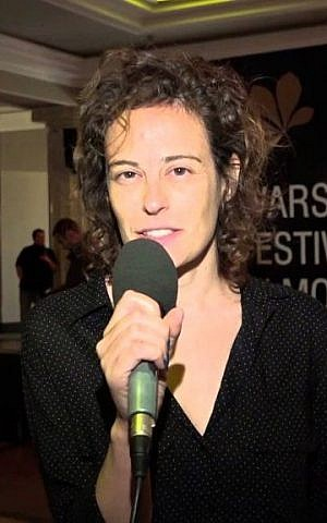 Michal Vinik, whose first feature film, Barash, debuted at some 60 festivals, and opened this week at Israeli theaters Courtesy YouTube screengrab)