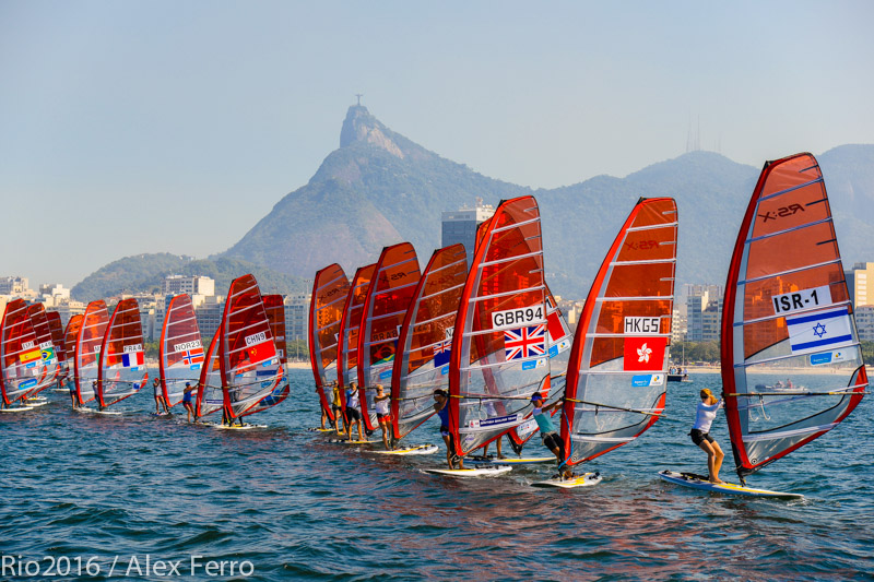 Rio 2016's first test event, an international sailing regatta that gathered 326 athletes from 35 countries, Aug. 3, 2014. (Alex Ferro/via JTA)