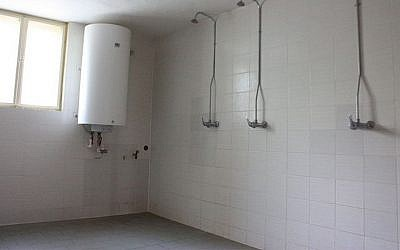 An illustrative photograph of a school shower (Wikimedia Commons)
