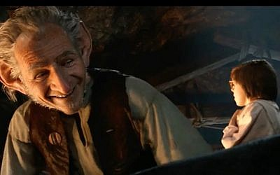 A scene from the 2016 film 'The BFG,' directed by Steven Spielberg for Walt Disney Pictures (courtesy)