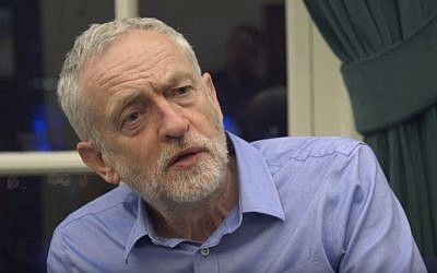 Leader of the UK Labour Party Jeremy Corbyn seen during a VICE documentary about his leadership. (YouTube/VICE News)