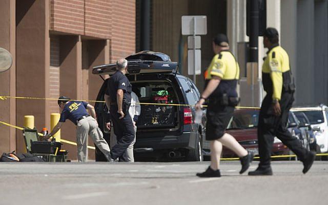 Illustrative photo of police in Dallas, Texas. (AFP/Laura Buckman)