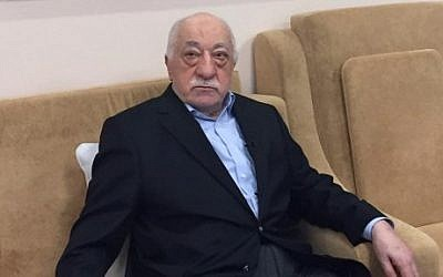 Turkish cleric Fethullah Gülen at his residence in Saylorsburg, Pennsylvania, on July 18, 2016. (AFP/Thomas Urbain)