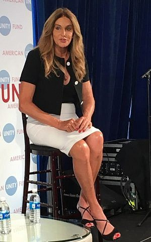 """Republican transgender rights activist Caitlyn Jenner participates in a """"Big Tent Brunch"""" organized by the American Unity Fund in Cleveland, Ohio, during the Republican National Convention, on July 20, 2016. (AFP PHOTO/Ivan Couronne)"""