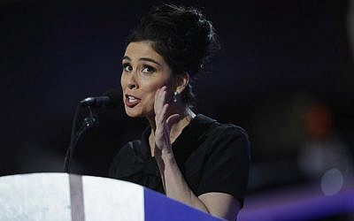 Michael Krasny is a fan of Sarah Silverman's comedy (Chip Somodevilla/Getty Images/AFP)