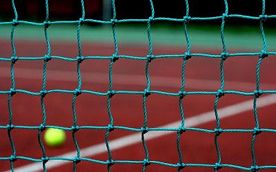 Illustrative photo of a tennis net. (CC BY 2.0 DaveMontPhotography/Flikr)
