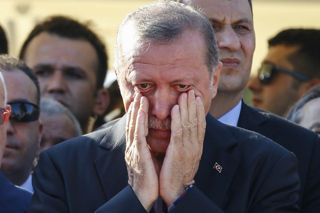 Image result for erdogan cry