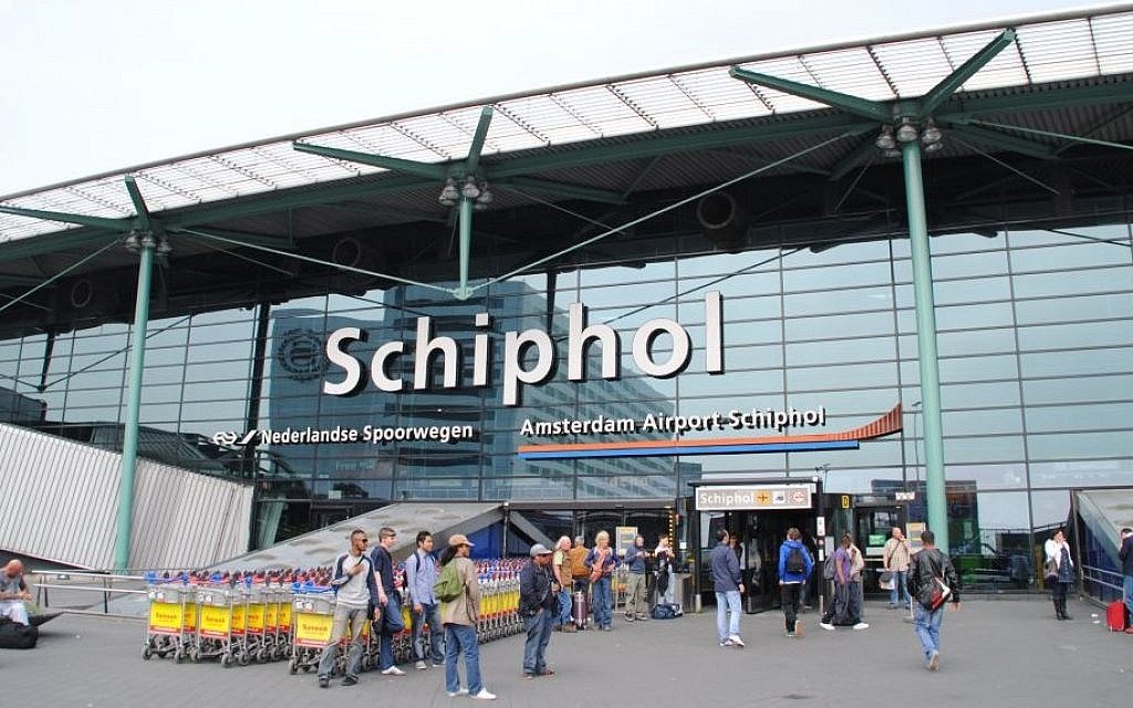 Amsterdam's Schiphol Airport (CC-BY-SA Cjh1452000/Wikipedia)