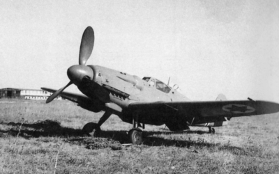 An Israeli Air Force Avia S-199 of the 101st squadron in June 1948. (Wikipedia/Public Domain)