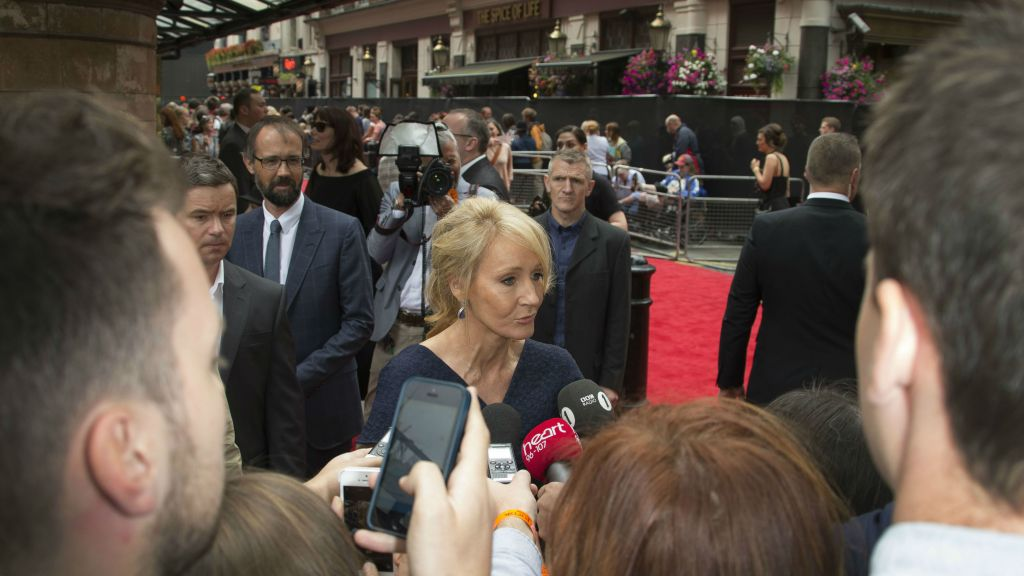 J K  Rowling hopes Harry Potter play goes global | The Times of Israel