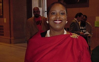 Cynthia McKinney, seen in a photo from 2008, was the Green Party's presidential candidate that year. (Wikimedia Commons)