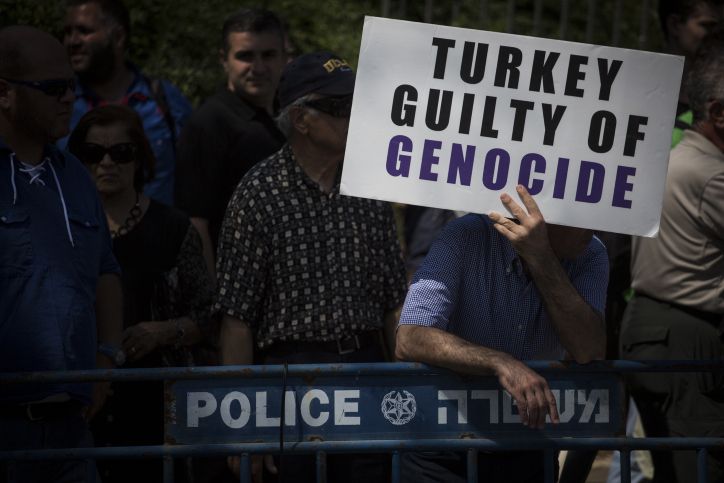 Turkey: US Senate vote on 'Armenia genocide' a 'political show'