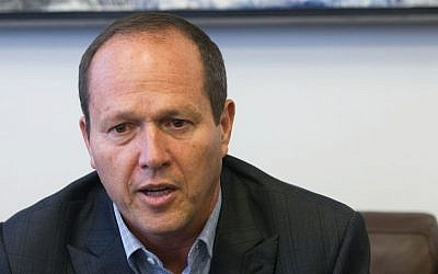 Jerusalem mayor Nir Barkat July 17, 2016. (Miriam Alster/Flash90)