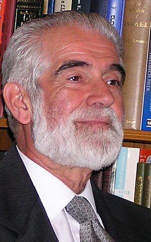 Former Chief Rabbi Cyril Harris, Johannesburg 2006 (Courtesy)