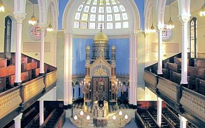 Garnethill Synagogue in Glasgow, Scotland. (GLAMJ CC BY-SA Wikimedia commons)